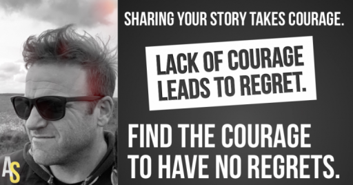 The Courage to Tell Your Story - The Aaron Schlein Story - AaronSchlein.com