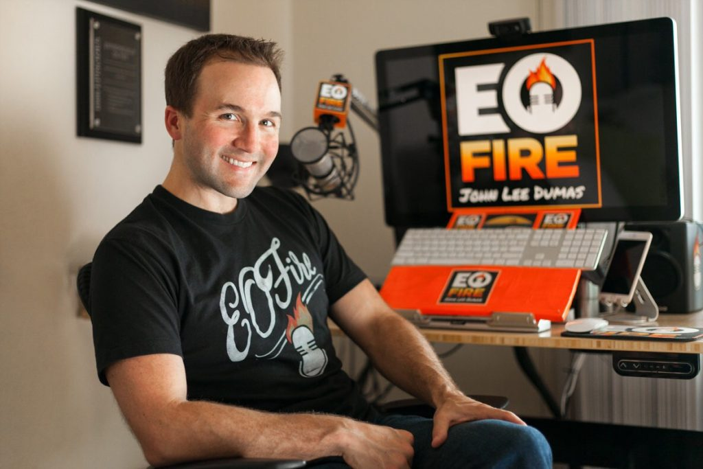 John Lee Dumas of Entrepreneurs on Fire - Aaron Schlein - AaronSchlein.com